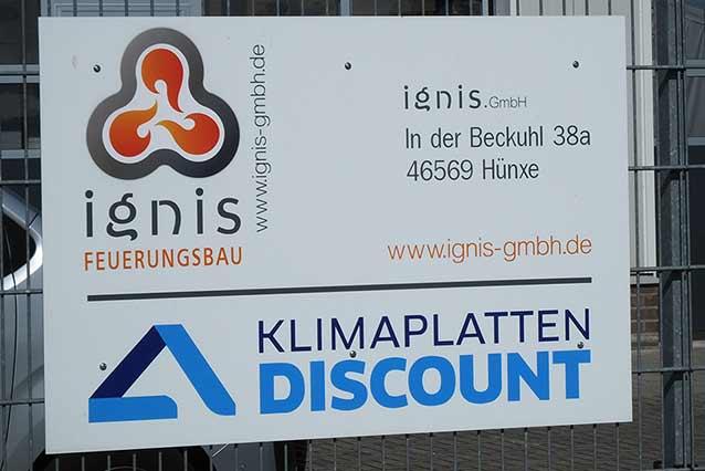 ignis GmbH Spezialist im Feuerungsbau
