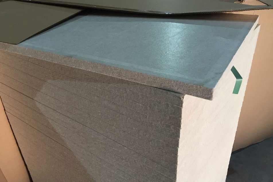Mikroporöse Platten zur Isolierung